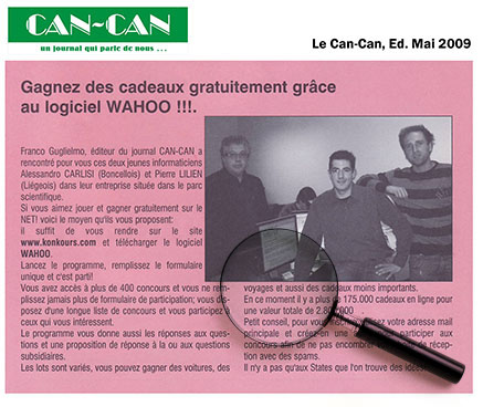 Article de Le Cancan