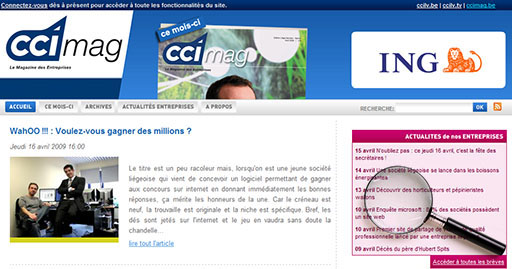 Article du CCImag