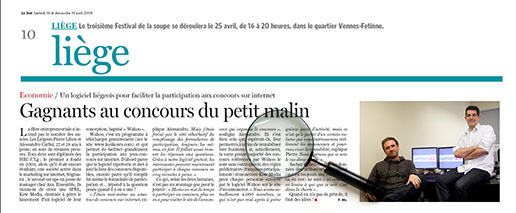 Article Le Soir
